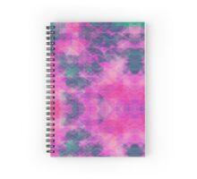 BMB: Unique Pink Pattern Spiral Notebook