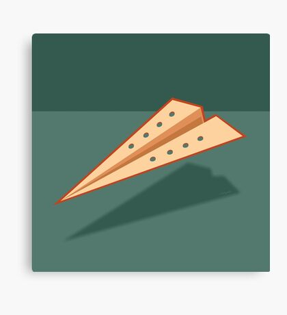 Paper Airplane 20 Canvas Print