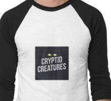 Cryptid Creatures Logo Apparel 2 Men's Baseball ¾ T-Shirt