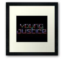 YJ Galaxy Framed Print