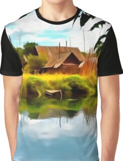 Rural landscape Graphic T-Shirt