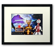 Another fine mess you got us into! Thanks a lot! Framed Print