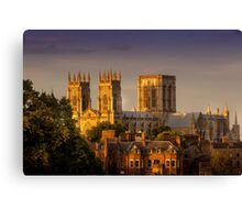York Minster Golden Hour Canvas Print