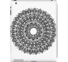 Black & White Mandala #2 iPad Case/Skin