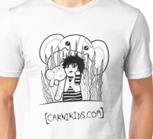 Carnikids: Corby Monkey Shirt B+W (Light) Unisex T-Shirt