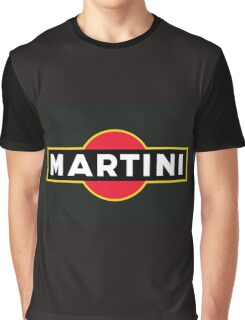 Martini Logo Graphic T-Shirt