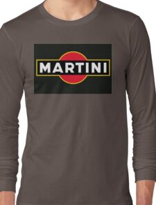 Martini Logo Long Sleeve T-Shirt