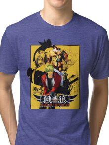 Garou Mark of the Wolves Tri-blend T-Shirt