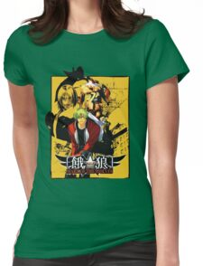 Garou Mark of the Wolves Womens Fitted T-Shirt