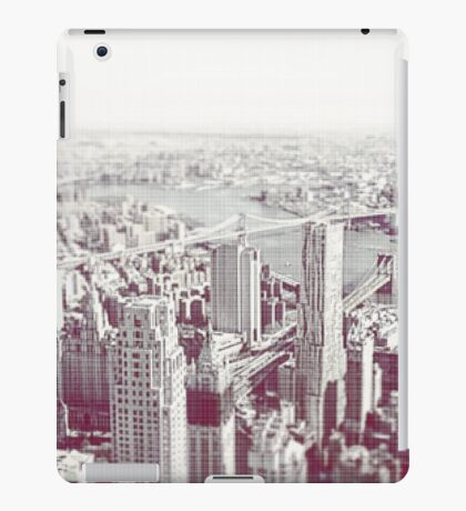 New York From a New Zenith 2016 *Colour* iPad Case/Skin
