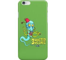 3 Wasted Wishes iPhone Case/Skin