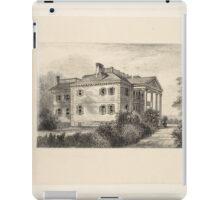 595 The Roger Morris House Washington's head quarters on Harlem Heights iPad Case/Skin