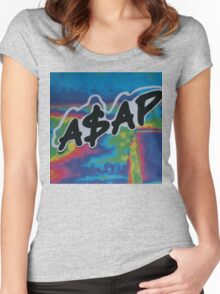 A$AP  Women's Fitted Scoop T-Shirt