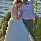 Lake side wedding by jeanlphotos
