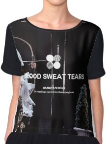 BTS Blood Sweat Tears 2 Chiffon Top