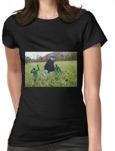 Army Men Womens Fitted T-Shirt