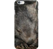 Sleeping Wombat iPhone Case/Skin