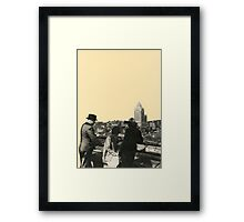 Views Across Vancouver Framed Print