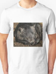 Sleeping Wombat T-Shirt