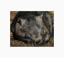 Sleeping Wombat Unisex T-Shirt