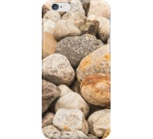 Rocky stones and pebbles iPhone Case/Skin