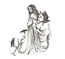 The Raven Queen by DarkForgeStudio