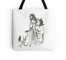 The Raven Queen Tote Bag
