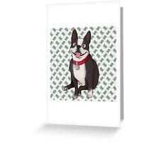 a good pup Greeting Card