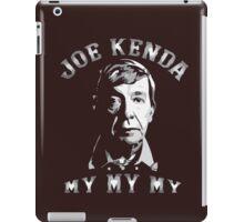 lieutenant kenda iPad Case/Skin