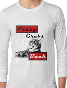 Pussy Grabs Back Long Sleeve T-Shirt