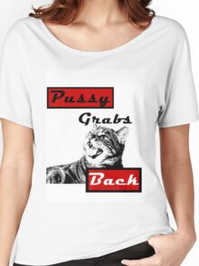 Pussy Grabs Back Women's Relaxed Fit T-Shirt