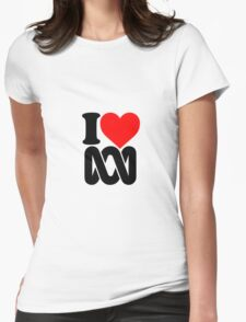Love the ABC Womens Fitted T-Shirt