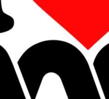 Love the ABC Sticker