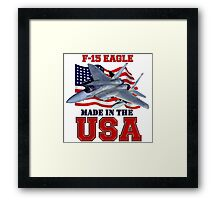 F-15 Eagle Made in the USA Framed Print