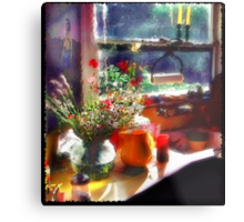 California Kitchen Metal Print