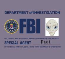Paul the Alien's FBI ID Kids Tee