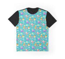 Cat Mermaids Graphic T-Shirt