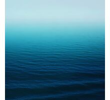Deep Blue Photographic Print