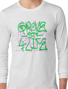GTA San Andreas -Grove street spray- Long Sleeve T-Shirt