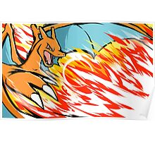 Charizard | Heat Wave Poster