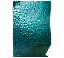 Surface Bubbles Poster