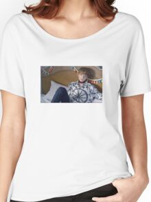 BTS Blood Sweat Tears Jungkook v1 Women's Relaxed Fit T-Shirt