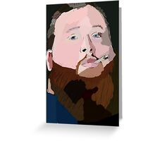 Action Bronson Portrait T Shirt Print Poster Greeting Card