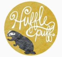 Hufflepuff (Stickers) by blondebacca