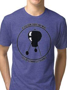 No Meat Tri-blend T-Shirt