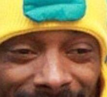 Snoop Fishh Sticker