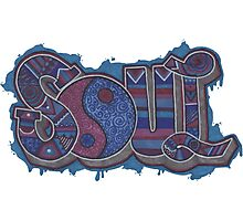 Soul Graffiti Photographic Print