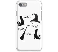 Halloween - witch  iPhone Case/Skin
