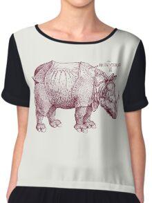 Rhinoceros Chiffon Top