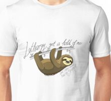 """Sloth in Lethargy"" (Bastille inspired) Unisex T-Shirt"